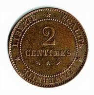 DEUX CENTIMES / 1895 A - B. 2 Centimes