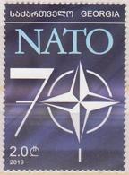 Georgia 2019 2020 Mi# NATO 70 Years * * NEW !!! - Georgia