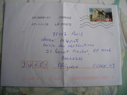 Eglise, Notre Dame De Rigny, Centre Val De Loire - Marcofilia (sobres)