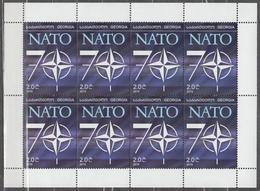 Georgia 2019 2020 Mi# Klb  NATO 70 Years * * NEW !!! - Georgia