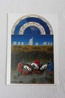 Carte Postale - Riches Heures Du Duc De Berry : Le Château De Vincennes - Francia