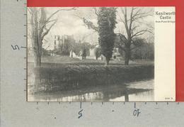 CARTOLINA NV REGNO UNITO - KENILWORTH Castle From Ford Bridge - 9 X 14 - Inghilterra