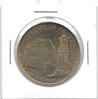 Médaille Touristique  Ville, SAINT  REMY  DE  PROVENCE ( 13 )  Verso  LA MÉDAILLE TOURISTIQUE FÊTE SES 20 ANS - 2016