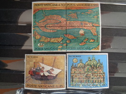 VATICAN 1972 UNIFICATO N° 518 à 523 ** - SAUVEGARDE DE VENISE - Ongebruikt
