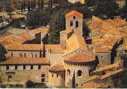 34 - Saint Guilhem Le Désert - L'Abbaye - Vue Aérienne - Frankreich