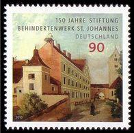 ALLEMAGNE ALEMANIA GERMANY DEUTSCHLAND BUND 2010 ST. JOHANNES CASTLE MNH MI 2817 YT 2642 SC 2591 SG 3674 - Unused Stamps