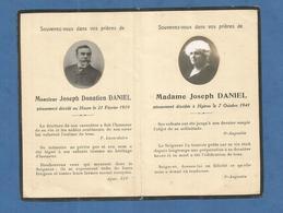 IMAGE GENEALOGIE FAIRE PART AVIS DECES   LE HAVRE HYERES DANIEL 1919 1941 - Décès