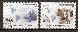 Albanie  Europa Cept 1992 Gestempeld Fine Used - Europa-CEPT