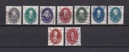 DDR - 1950 - Michel Nr. 261/269 - Gest. - 70 Euro - Gebraucht