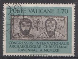 Vatican Mi.nr.:410 Kongress Für Christliche Archäologie 1962 Oblitérés / Used / Gestempeld - Oblitérés