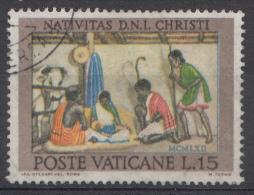 Vatican Mi.nr.:421 Weihnachten 1962 Oblitérés / Used / Gestempeld - Oblitérés