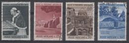 Vatican Mi.nr.:442-445 Pilgerfahrt Von Papst Paul VI 1964 Oblitérés / Used / Gestempeld - Oblitérés