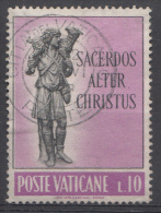 Vatican Mi.nr.:397 Priesterliche Berufung 1962 Oblitérés / Used / Gestempeld - Oblitérés
