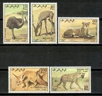 Sahara 1990 / Fauna Mammals Birds MNH Vögel Säugetiere Aves Mamíferos / Cu15619  29-43 - Sellos