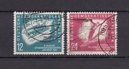 DDR - 1951 - Michel Nr. 280/81 - Gest. - 32 Euro - Gebraucht