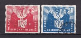 DDR - 1951 - Michel Nr. 284/285 - Gest. - 65 Euro - Gebraucht