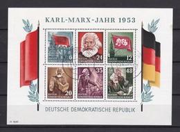 DDR - 1953 - Michel Nr. Block 8 A - Gest. - 220 Euro - Gebraucht