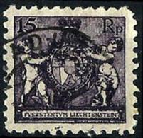 Liechtenstein Nº 51B Usados. Cat.20€ - Used Stamps