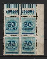 MiNr. 285 ** Oberrand Bogenecke  (0112) - Nuevos