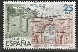 """PIA - SPAGNA - 1980 : Esposizione Filatelica """"Espamer 80"""" - Ponte Del Sole A Tiahuanaco   - (Yv Da Bf 27) - 1931-Oggi: 2. Rep. - ... Juan Carlos I"""