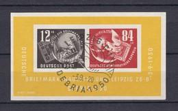 DDR - 1950 - Michel Nr. Block 7 - Gest. - 140 Euro - Gebraucht