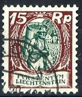 Liechtenstein Nº 68 Usado. Cat.32€ - Used Stamps