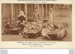 Orphelinat Des Soeurs De La Providence De Portieux - ING-K'OOU (Mandchourie Méridionale) - Les Petits à Table - Eglises Et Couvents