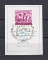 DDR - 1954 - Michel Nr. Block 10 - Gest. - 60 Euro - Gebraucht