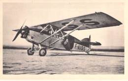 AVIATION Avion MILITARIA (entre 2 Guerres 1919-38)  POTEZ 3 Z Moteurs Salmon 230 CV - 5 Passagers - CPSM Sépia PF - 1919-1938: Entre Guerres