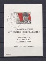 DDR - 1956 - Michel Nr. Block 14 - Gest. - 40 Euro - Gebraucht