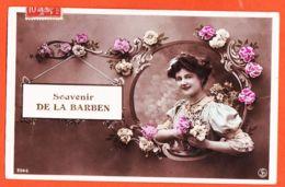 Car511 Rare Souvenir De LA BARBEN 13-Bouches Du Rhone 1908 à Antoinette DUBEUIL Val Estable Pelissanne - France