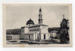 Asiago (Vicenza) - Il Duomo - Viaggiata Nel 1946 - (FDC20006) - Vicenza