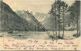 Gruss Aus Ampezzo - Dürrensee Gel. 1899 - Otras Ciudades