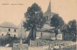 IZENAVE - QUARTIER DE L'EGLISE - Autres Communes