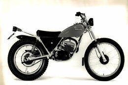 Fantic Caballero 125Trial +-22cm*14cm Moto MOTOCROSS MOTORCYCLE Douglas J Jackson Archive Of Motorcycles - Other