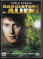 DVD - ALIEN HUNTER - CACCIATORE DI ALIENI - FANTASCIENZA - LINGUA ITALIANA, INGLESE E SPAGNOLO -DOLBY - Science-Fiction & Fantasy