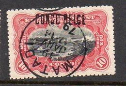 CONGO - MOLS - COB 31L - 10C LOCALE L3 - OBL MATADI 19 JANV 1909 - SUPERBE - KA06 - Congo Belge