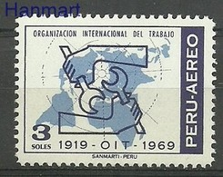 Peru 1970 Mi 748 MNH ( ZS3 PRU748 ) - ILO