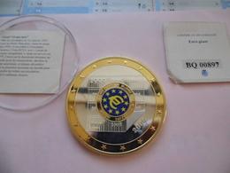 EURO Géant - 10 Ans De L'Euro -  1000 éditions - Certificat De Garantie  BQ 00897 - Monnaies