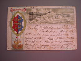 HASTINGS - LITHO 1901 - Hastings