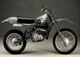 Beta 250CR +-20cm*14cm Moto MOTOCROSS MOTORCYCLE Douglas J Jackson Archive Of Motorcycles - Photographs