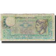 Billet, Italie, 500 Lire, KM:94, B - [ 2] 1946-… : Repubblica