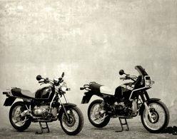 B.M.W. R 100 R +-23cm*17cm Moto MOTOCROSS MOTORCYCLE Douglas J Jackson Archive Of Motorcycles - Fotos