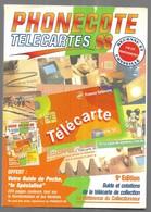 """Sam01  Phonecote Télecartes """"98"""" 9ème édition La Référence Du Collectionneur - Schede Telefoniche"""