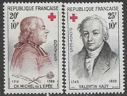 France Red Cross 1959 Set MNH   2016 Scott Value $4.50 - Unused Stamps