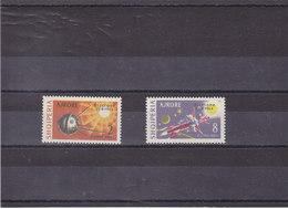 ALBANIE 1964  ESPACE RICCIONE SURCHARGE Yvert PA 66-67 NEUF** MNH Cote : 47,50 Euros - Albanie