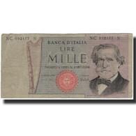 Billet, Italie, 1000 Lire, KM:101d, B+ - [ 2] 1946-… : République