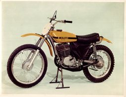 ANCILLOTTI CR125 Cross +-23cm*17cm Moto MOTOCROSS MOTORCYCLE Douglas J Jackson Archive Of Motorcycles - Photographs