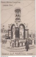 COGNAC MARTELL FRANCO BRITISH EXHIBITION LONDON 1908 TBE - Cognac