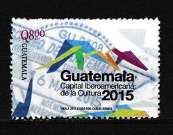 Timbre Du GUATEMALA Oblitéré N° Y. & T. Inconnu Année 2015 - Guatemala